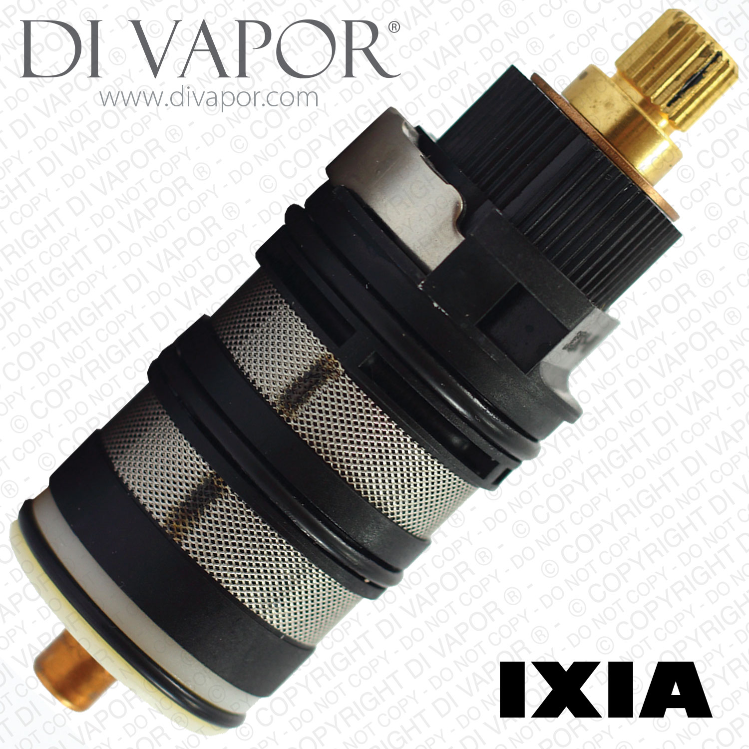 IXIA Shower Diverter Cartridge 2 /& 3 Way for Concealed or Exposed Shower Flova