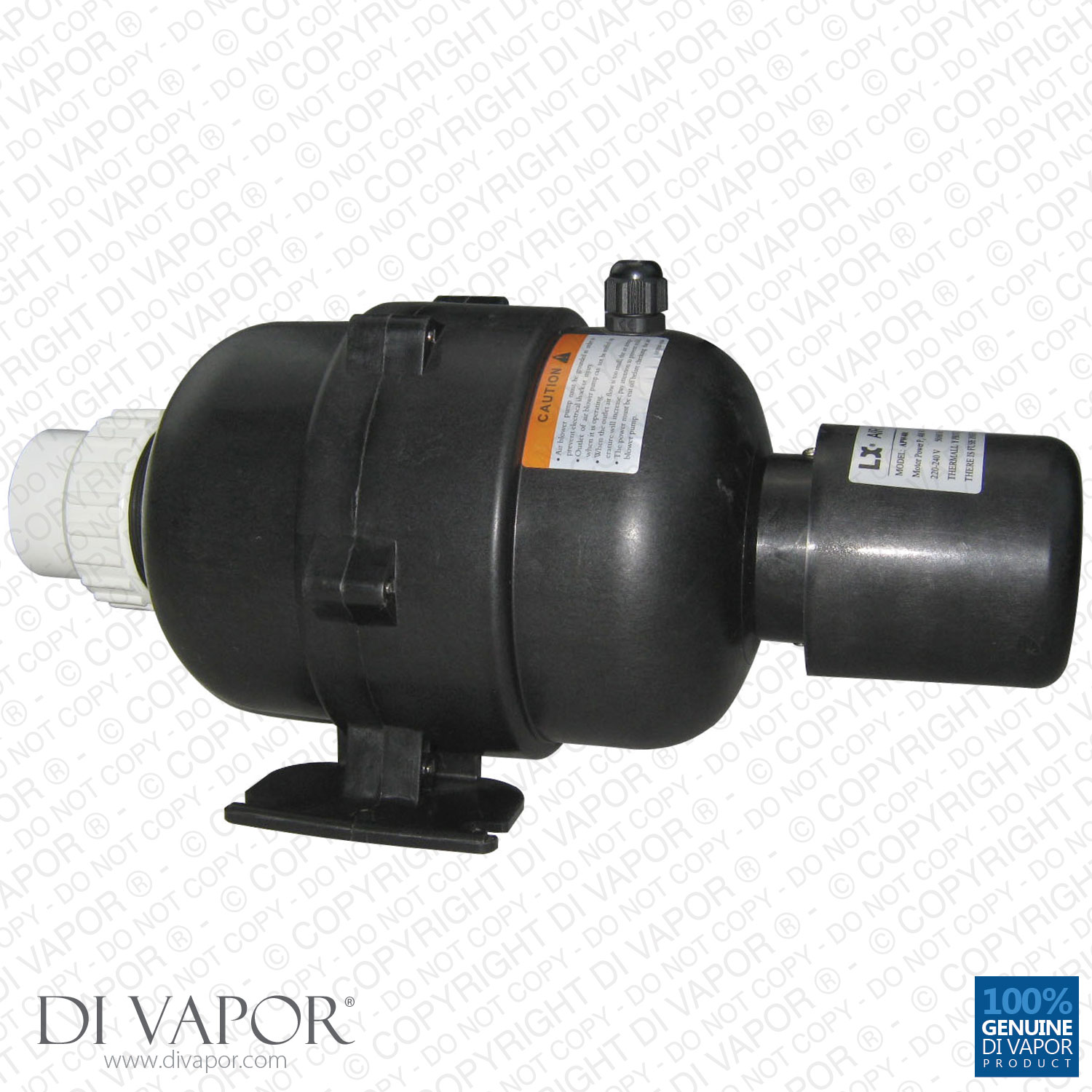Hot Tub Blower : Lx apw v air blower pump hp with heater w