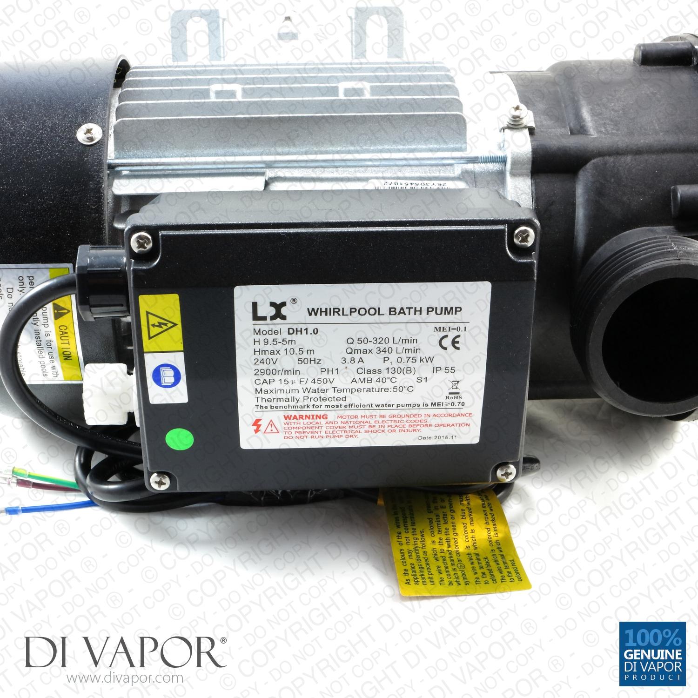 LX JA100 POMPA 1 HPVasca Idromassaggio Spa da bagno Whirlpool Pompa di circolazione dell/'acqua|