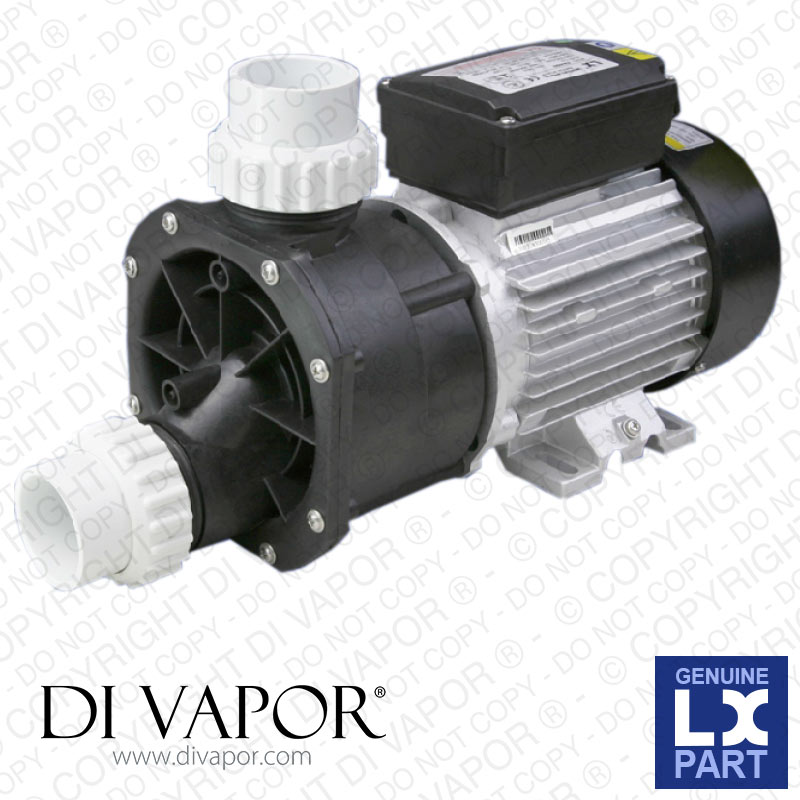 LX EA350-Y Pump 1 HP | Hot Tub | Spa | Whirlpool Bath | Water Circulation Pump | 220V/50Hz | 3.8 Amp