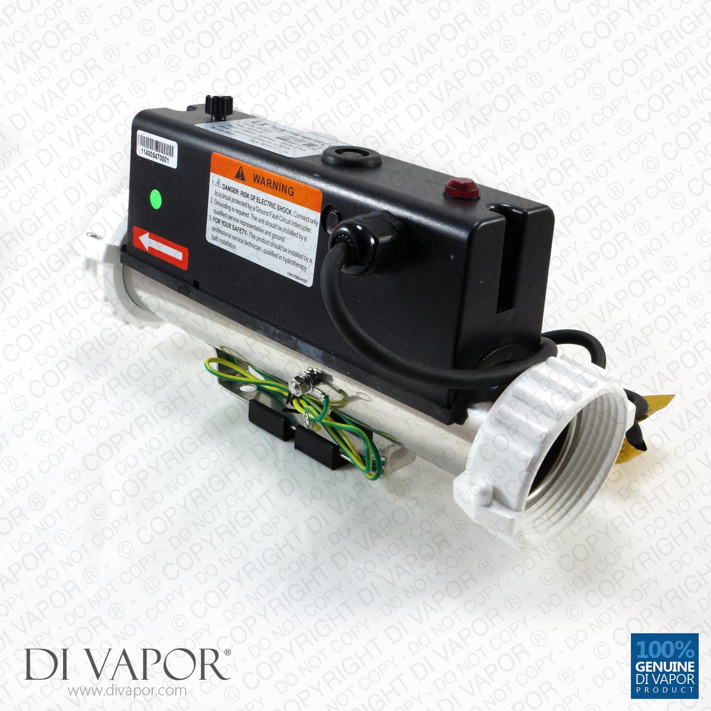 LX H10-R1 Water Heater 1000W (1kW) - Hot Tub - Spa - Whirlpool Bath ...