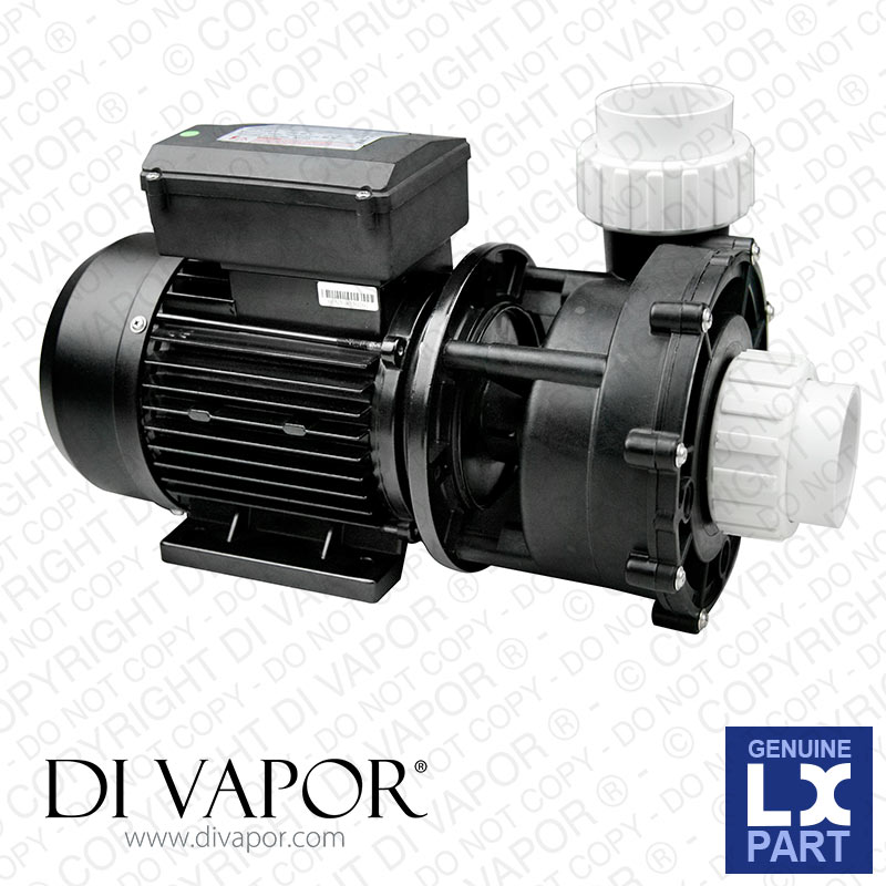 LX LP200 Pump 2 HP | Hot Tub | Spa | Whirlpool Bath | Water Circulation Pump | 220V/50Hz | 7.0 Amps