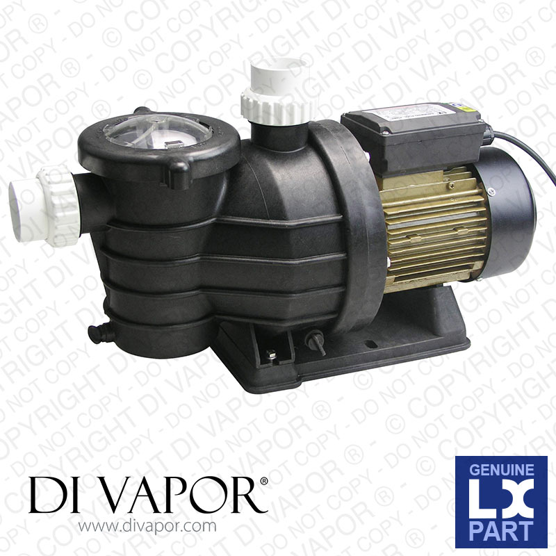 LX SMP020 Pump 0.5 HP | Swimming Pool Pump | 230V/50Hz | 1.6  Amps