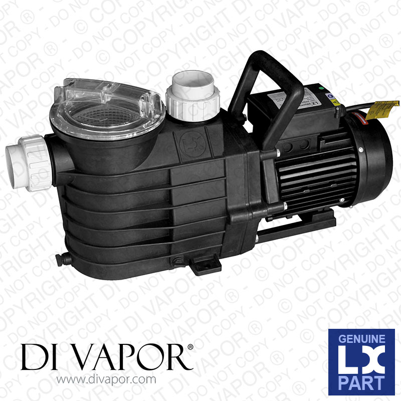 LX SUPB100 Pump 1 HP | Swimming Pool Pump | 220V/50Hz | 3.8 Amps