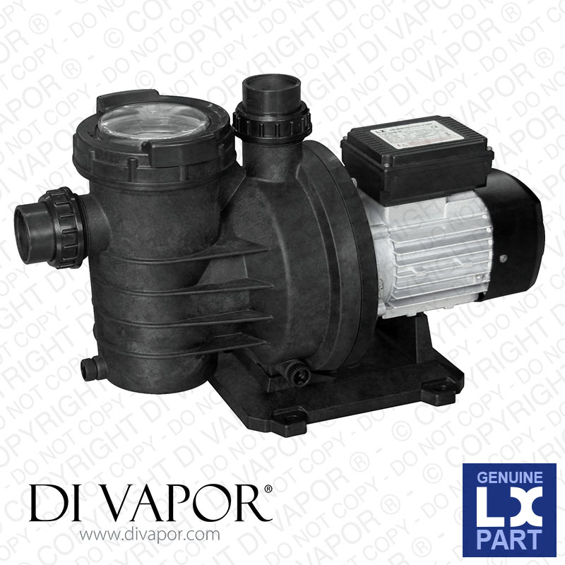 LX SWIM025 Pump 0.5 HP | Swimming Pool Pump | 220V/50Hz | 1.9 Amps