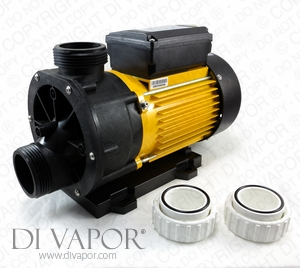 LX TDA100 Pump 1 HP | Hot Tub | Spa | Whirlpool Bath | Water Circulation Pump | 220V/50Hz | 3.8 Amps