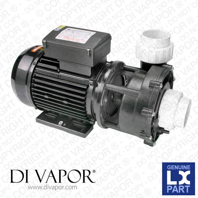 LX WP400-I Pump 4 HP | Hot Tub | Spa | Whirlpool Bath | Water Circulation Pump | 220V/50Hz | 14 Amps