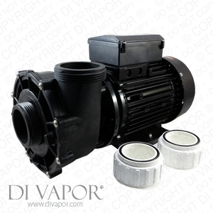 LX WP300-II Pump 3 HP, 10 Amps, 2.2kW Hot Tub Pump | 220V/50Hz