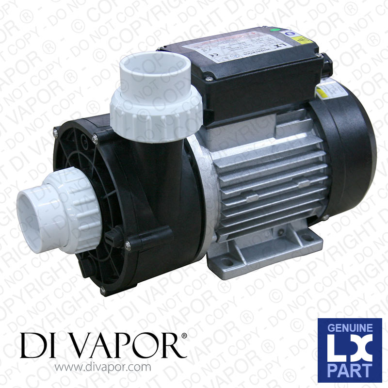 LX WTC50M Pump 60HZ:P1=250W | Hot Tub | Spa | Whirlpool Bath | Water Circulation Pump | 230V/50/60Hz
