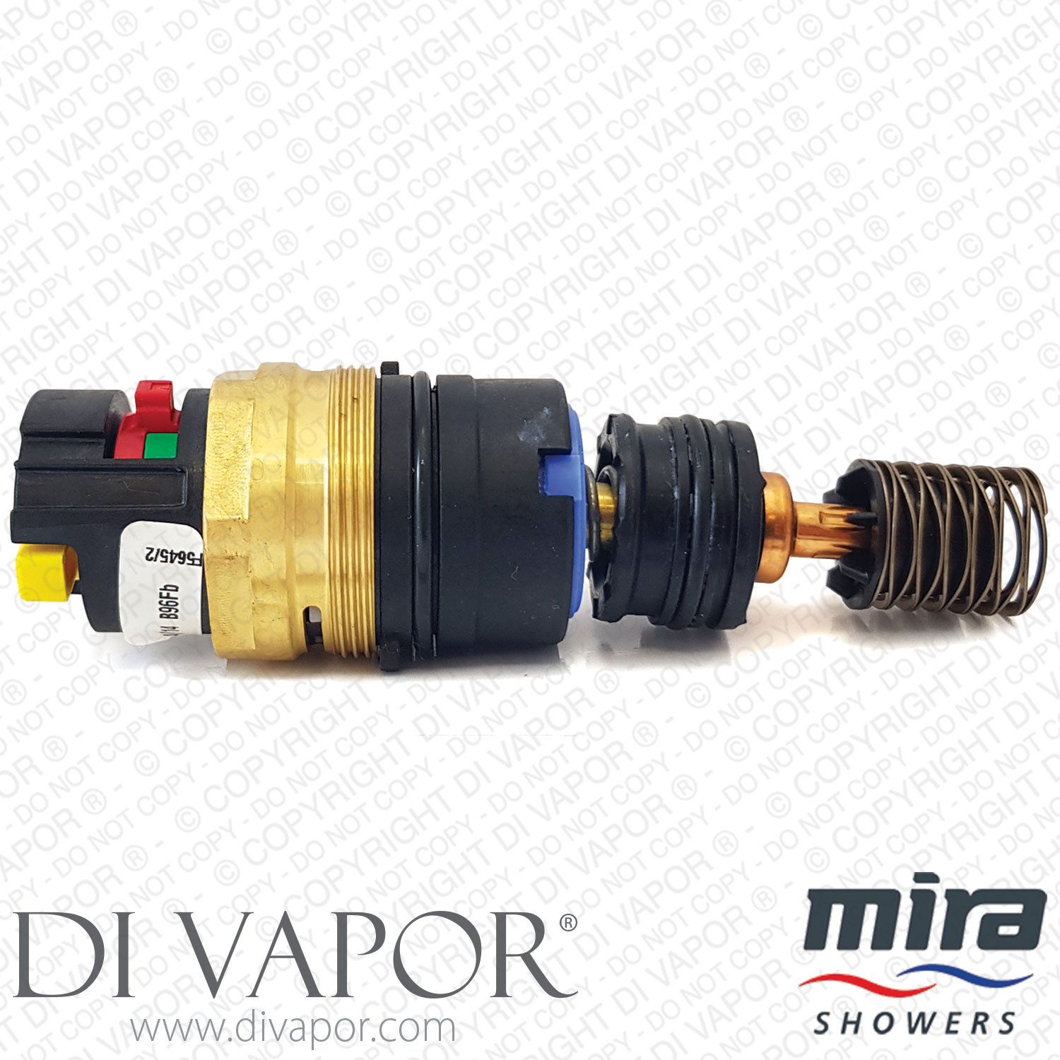 Bath Shower Mixer Diverter Mira 1736 703 Thermostatic Cartridge For Duo Agile Adept