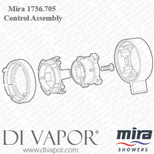 Mira 1736.705 Agile & Pronta Lever Control Assembly