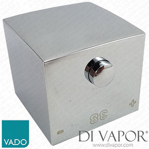 Vado MIX-1/TEMP-C-C/P Temperature Control Handle for MIX-148C/3-C/P Shower Mixer Valve