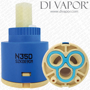 N35D 35mm Ceramic Disc Lever Cartridge