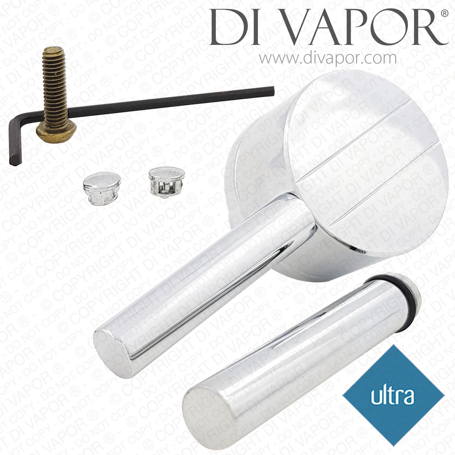 Ultra Shower Valve Temperature Control Handle