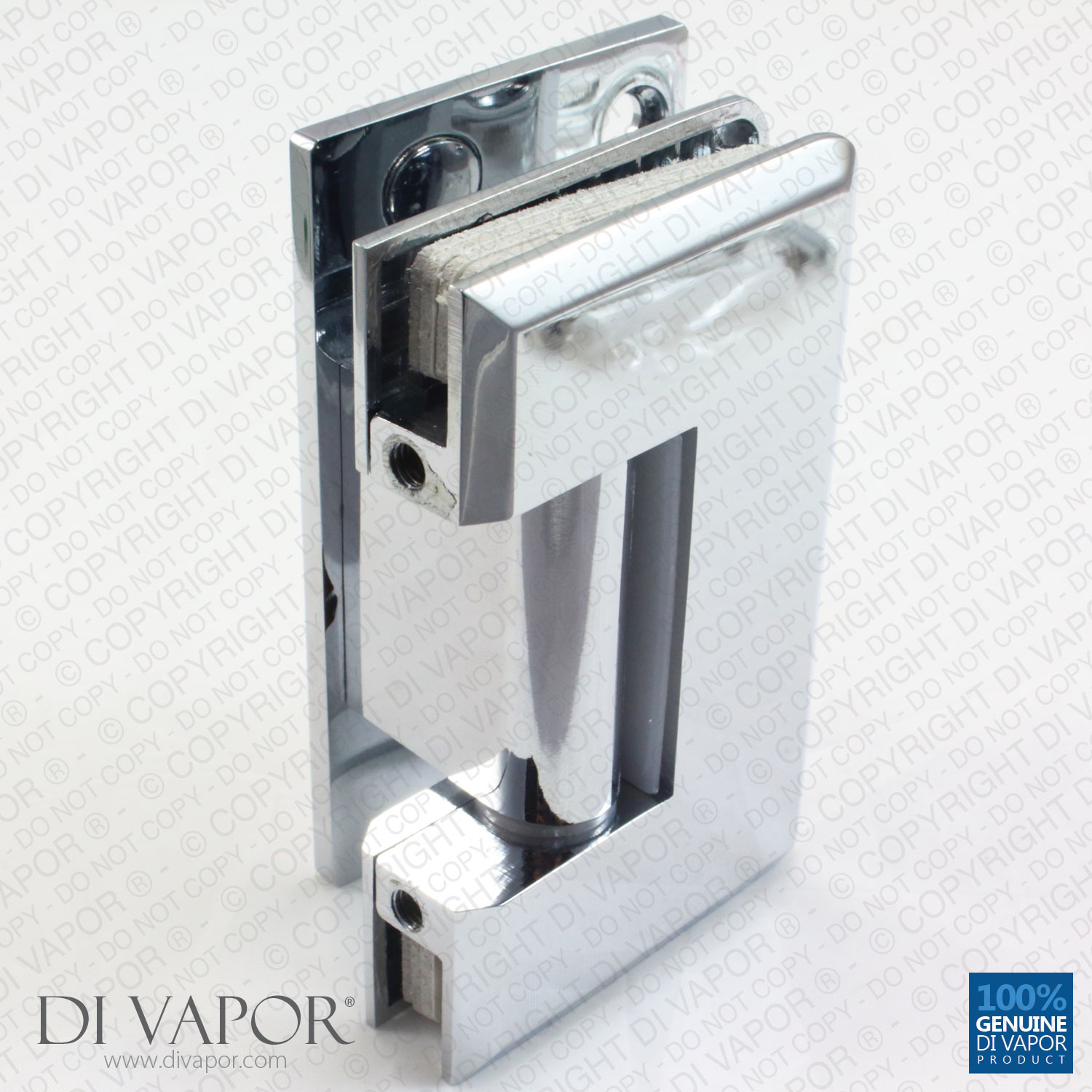 Glass Shower Door Hinges : Degree wall mounted shower door glass hinge chrome