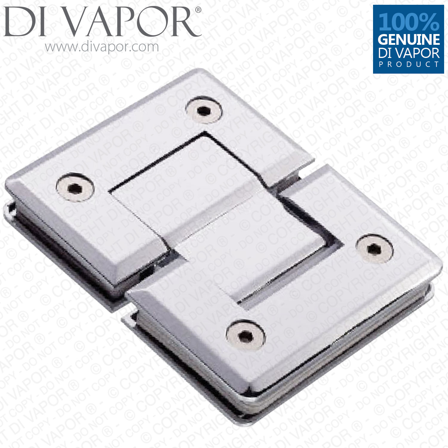 Glass Shower Door Hinges : Di vapor r degree glass to shower door hinge