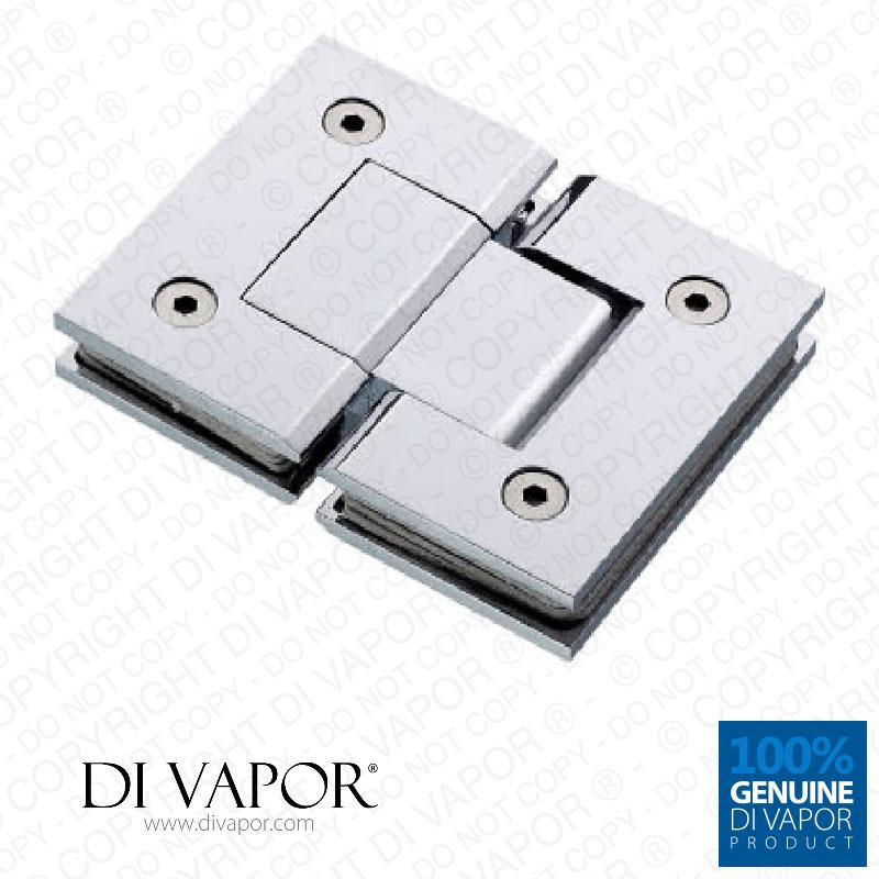 180 degree glass to glass shower door hinge chrome for 180 degree door hinges