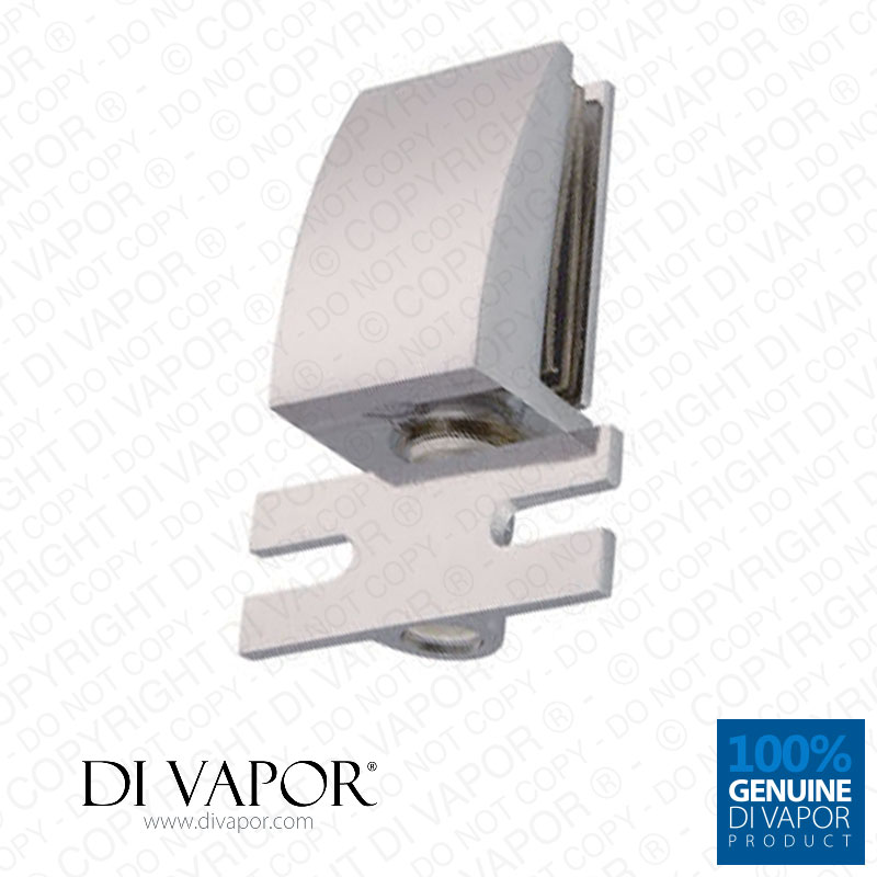 di vapor r shower door glass pivot hinge 25mm hole to hole