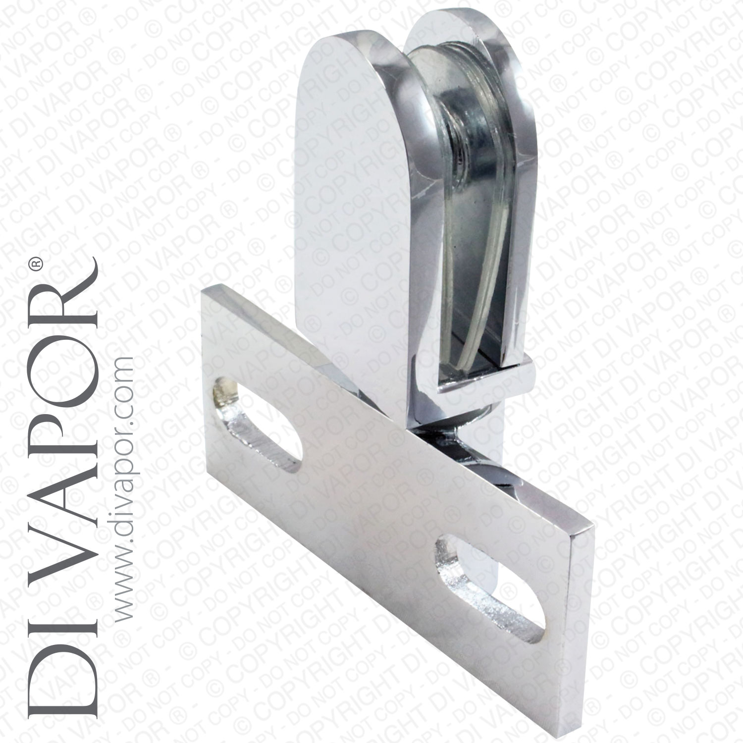 Di Vapor (R) Glass Shower Door Pivot Hinge Duty Heavy Seal Hinges ...