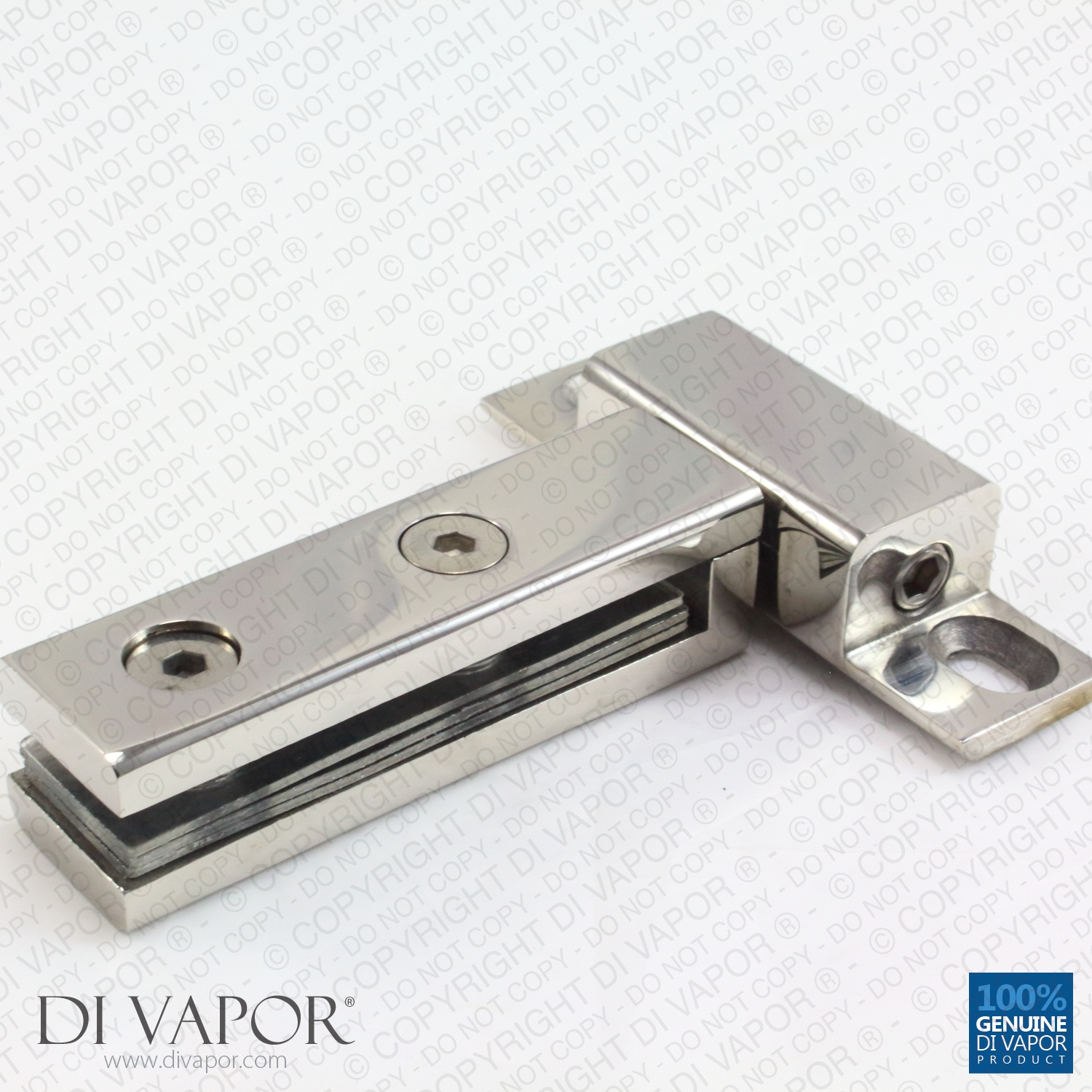 360 Degree Shower Door Pivot Hinge Part 40mm Hole To
