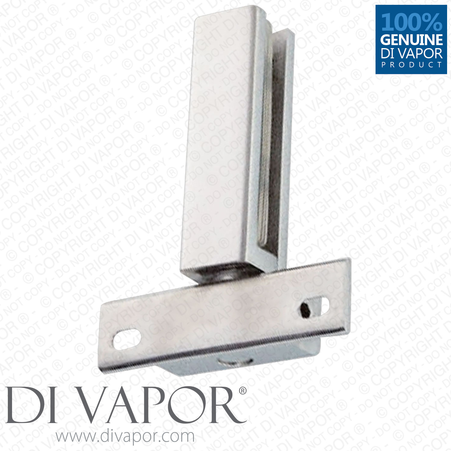 360 degree shower door pivot hinge part 40mm hole to hole for