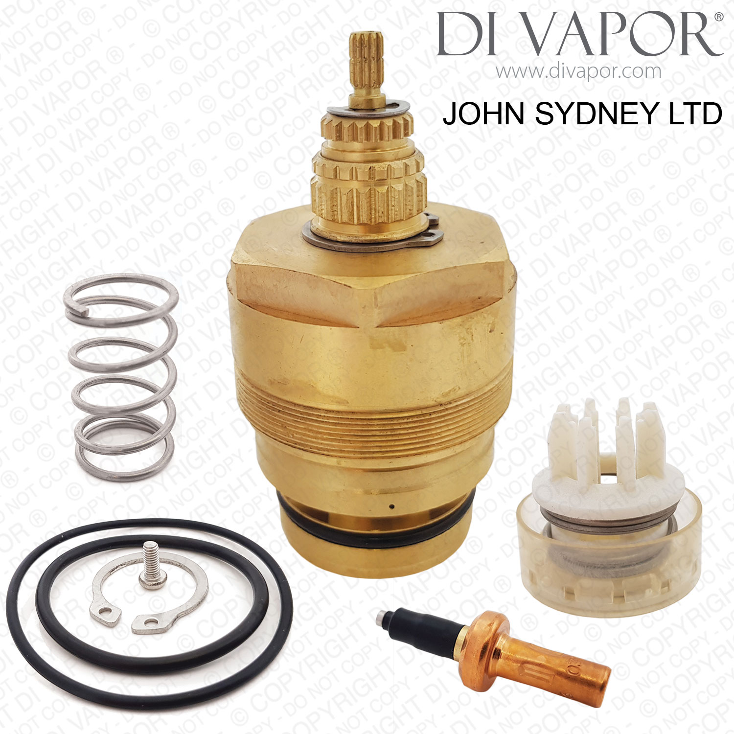 John Sydney Ltd Thermostatic Shower Cartridge Replacement