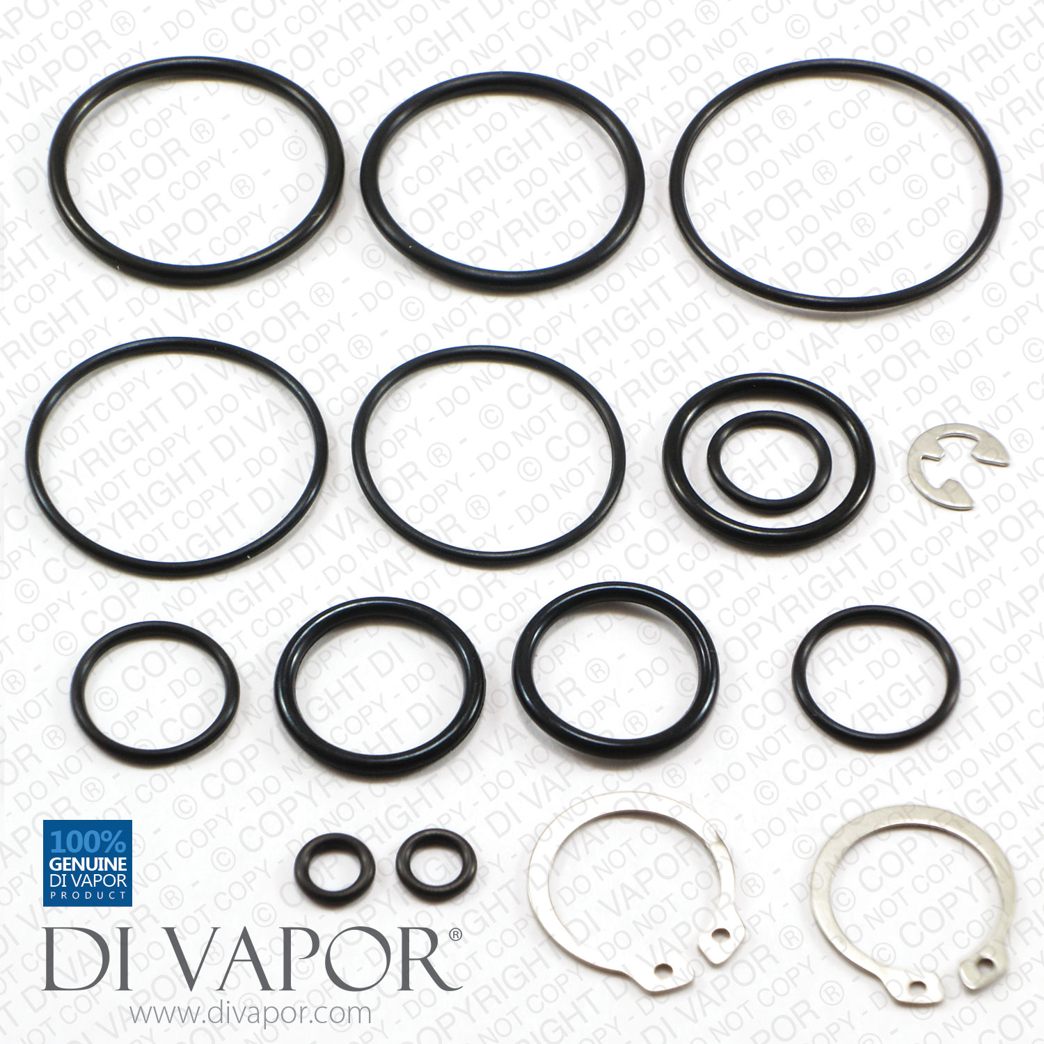 Sk1250 1 Seal Kit For Sirrus Bristan And Gummers 1250