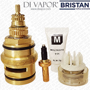 Bristan SK971007 Thermostatic Cartridge WITH Piston and Thermostat for Mini Valve, Rio & Regency 2 Showers