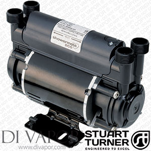 Stuart Turner 46407 Showermate Standard 1.8 bar Twin Water Pump for Showers, Bathrooms, Houses and Apartments