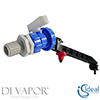 Ideal Standard SV62867 Ballvalve Side Inlet 170 Offset Extension Arm Diverter In-wall System Conceal