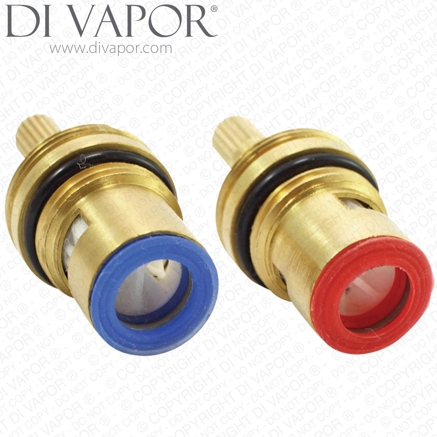 Two 1 2 Quot Quarter Turn Ceramic Disc Tap Cartridge Replacements Flow Headworks Glands