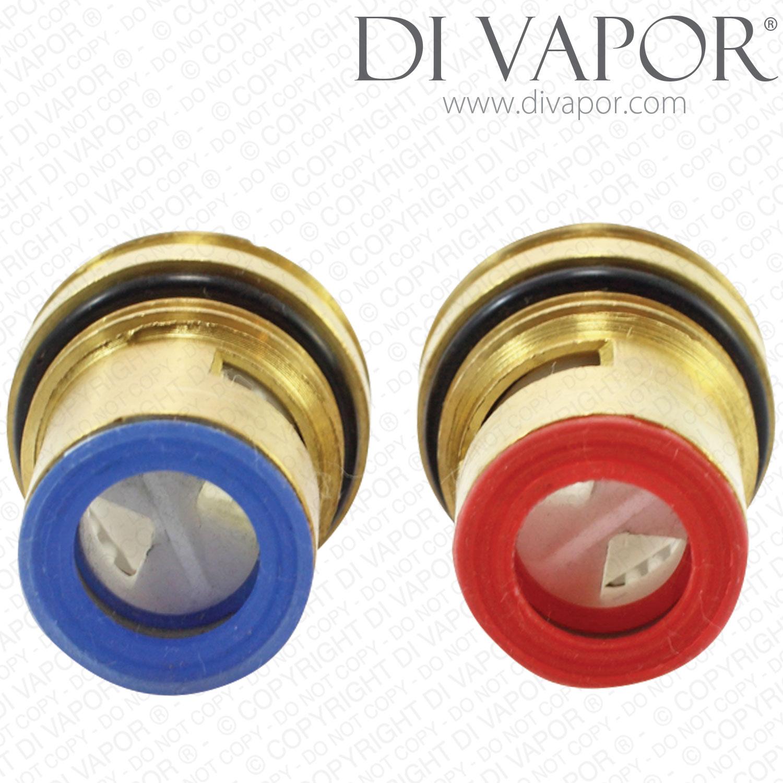 Two 1 2 Quot Quarter Turn Ceramic Disc Tap Cartridge