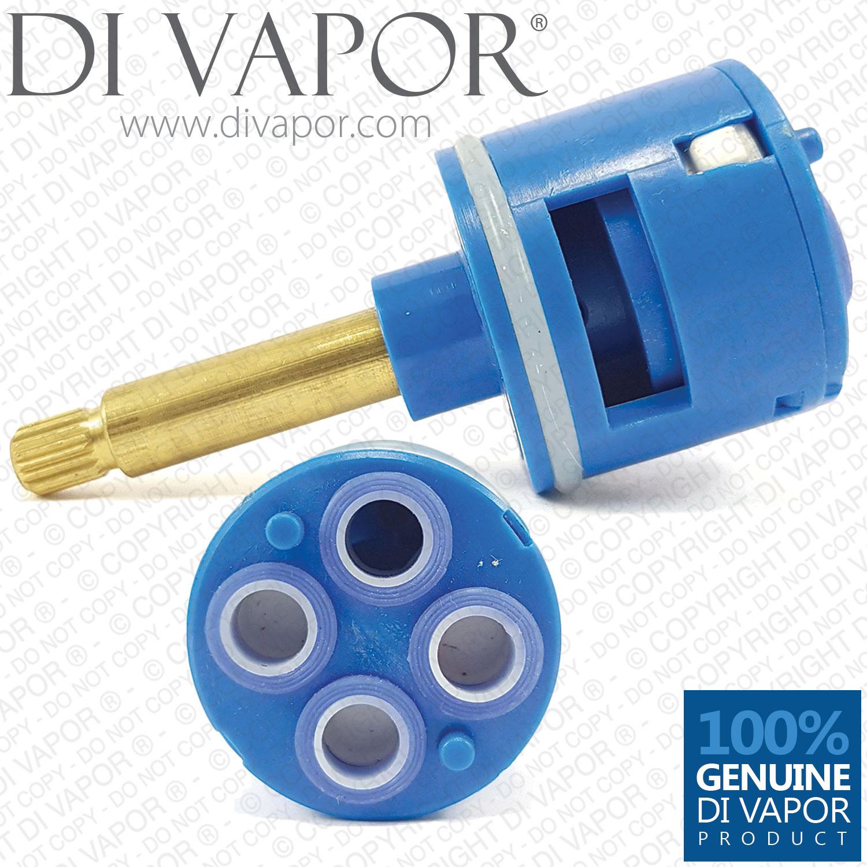 36 5mm Shower Diverter Cartridge 4 Way 83mm Total Length