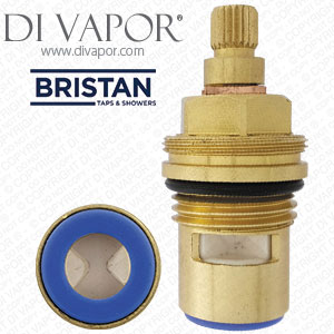 Bristan VLV 04054 Cold Tap Cartridge Replacement Valve 1 2 Inch 20 Spline Compatible Cartridge