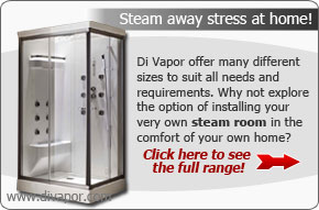 Cascade Steam Shower