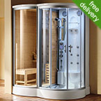 Utopia Steam Shower Cabin and Sauna Cubicle