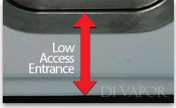 Low Access Entrance